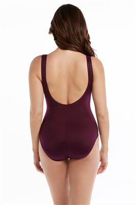 Escape Underwire Over The Shoulder One Piece Swimsuit
