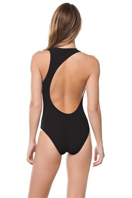 Ren Asymmetrical Back One Piece Swimsuit