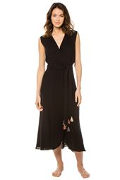Amagansett Midi Length Tassel Dress