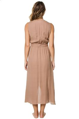 Amagansett Midi Length Knot Tie Dress
