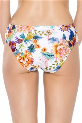 Maui Shirred Tab Side Hipster Bikini Bottom