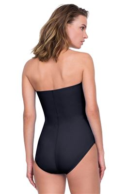 Classic Bandeau One Piece Swimsuit