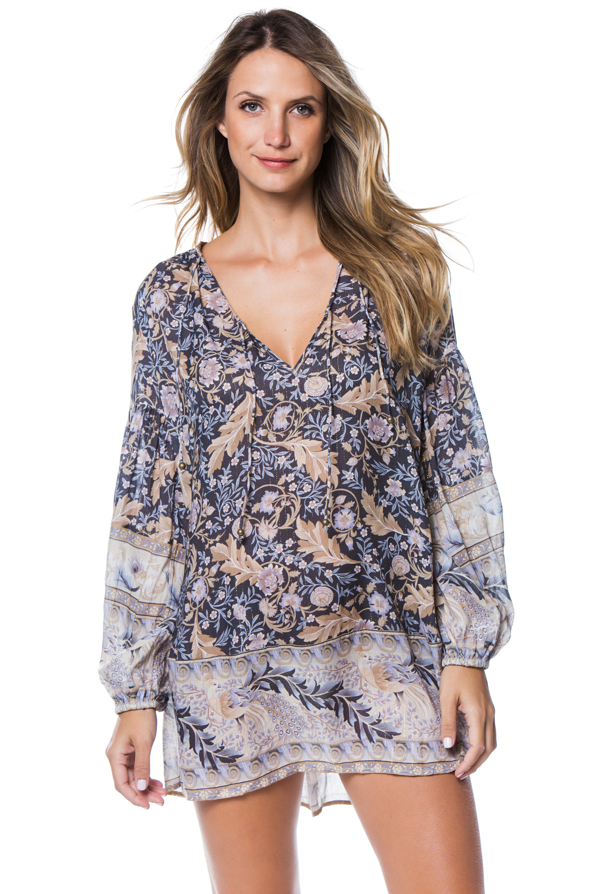 c3618f47bd72 Spell & The Gypsy's Wovens Oasis Long Sleeve Dress