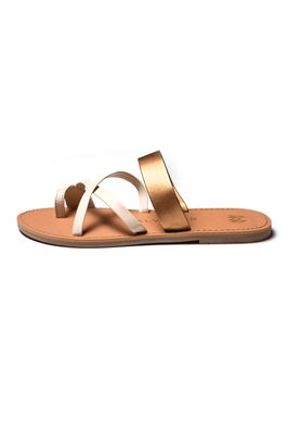 Joni Toe Ring Leather Sandals