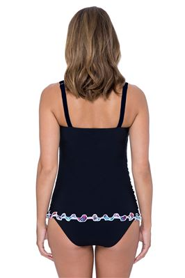 Underwire Over The Shoulder Tankini Top (E Cup)
