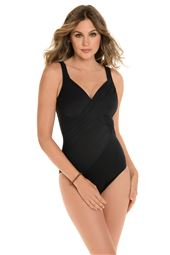 Revelle Underwire Over The Shoulder One Piece Swimsuit