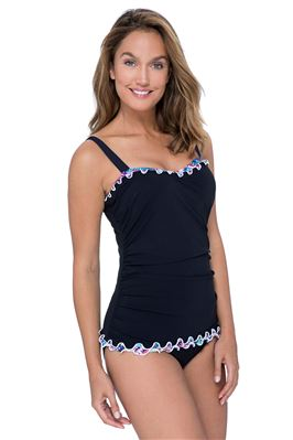 Underwire Over The Shoulder Tankini Top (D Cup)