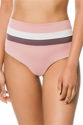 Exclusive Portia High Waist Fold-Over Bikini Bottom