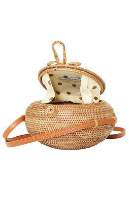 Ola Circular Wicker Handbag