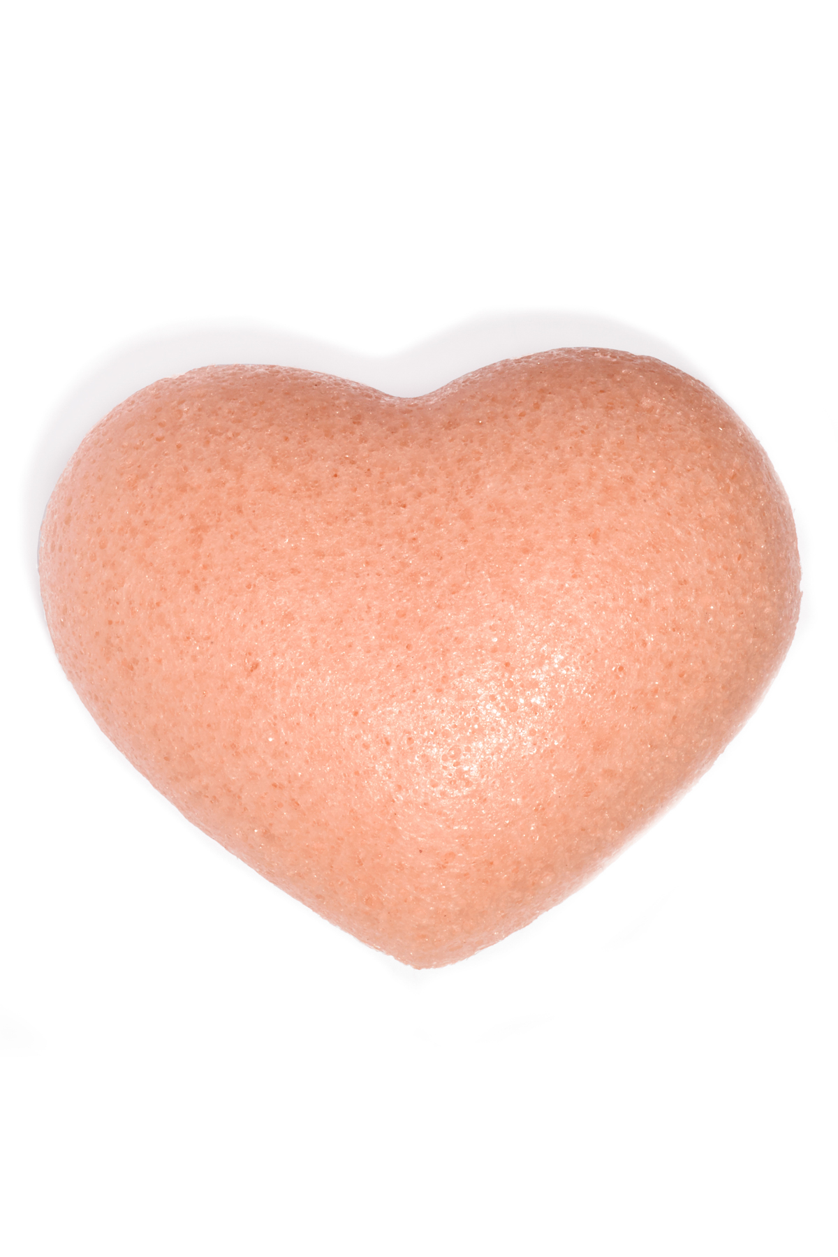 The Cleansing Sponge Rose Clay Heart - Pink 2