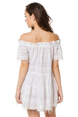 Kelali Off The Shoulder Mini Dress