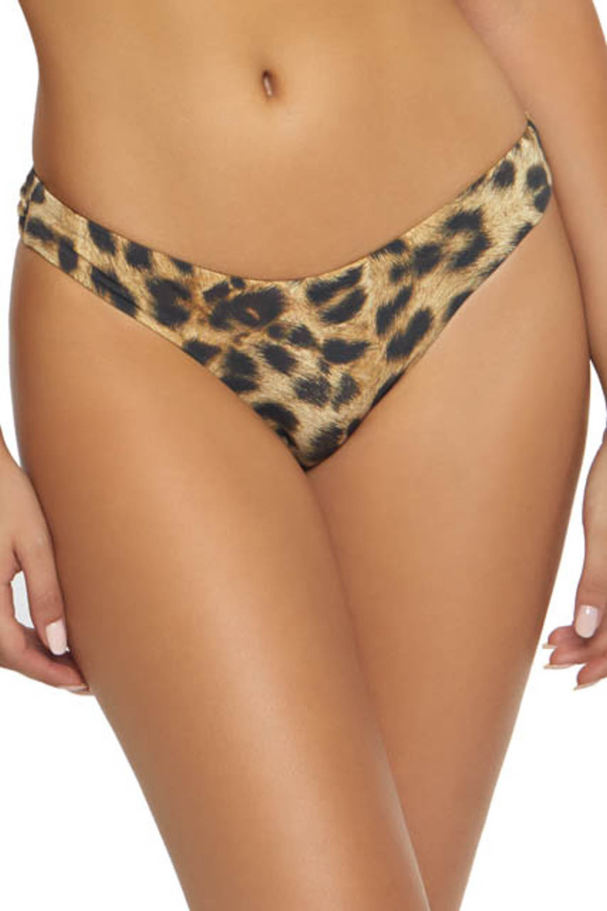 Leopard Brazilian Bikini Bottom - Jungle 1