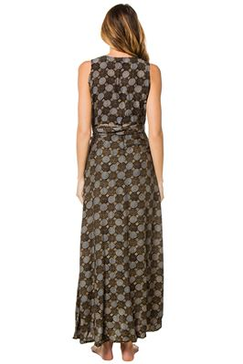 Danika Wrap Maxi Dress