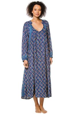 Fiore Deep V Maxi Dress