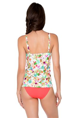 Underwire Over the Shoulder Tankini Top (D+ Cup)