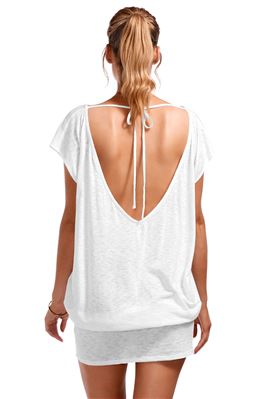 Ella Open Tie Back Tunic
