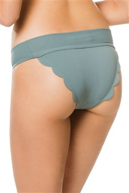 Santa Clara Scalloped Banded Hipster Bottom