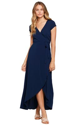 Goa High-Low Wrap Maxi Dress
