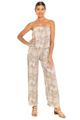 Strapless Cover Jumpsuit
