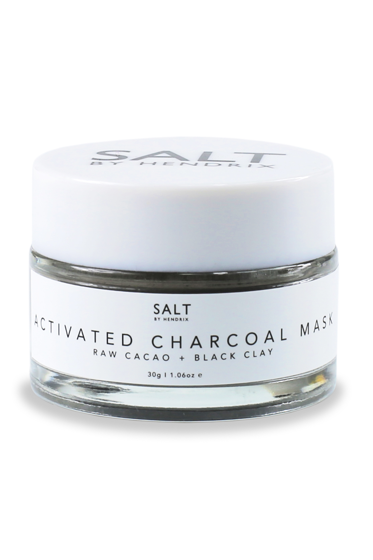 Activated Charcoal Clay Face Mask - Charcoal 1