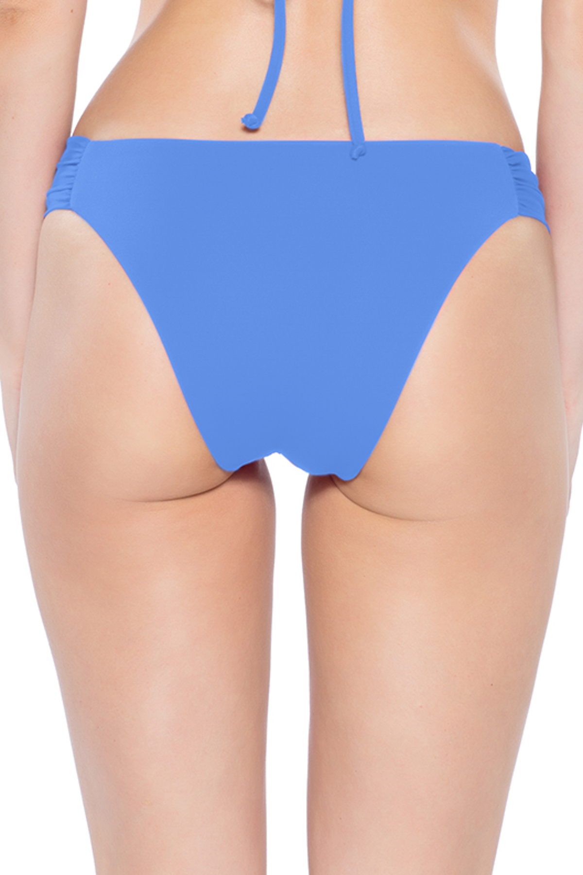 Coastal Tab Side Brazilian Bikini Bottom - Skylight 10