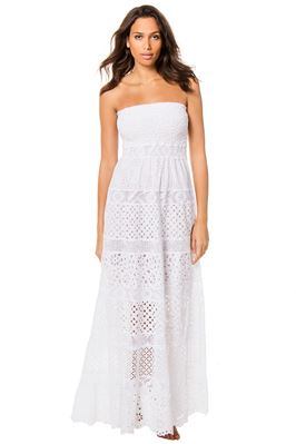 Firenze Crochet Lace Maxi Dress