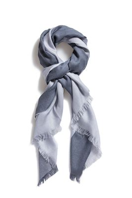 Alassio Frayed Edge Wrap Scarf
