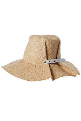 Commando Raffia Bucket Hat