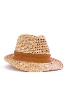 Tarboush Grosgrain Topstitched Fedora