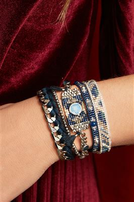 Destiny Beaded Cuff Bracelet