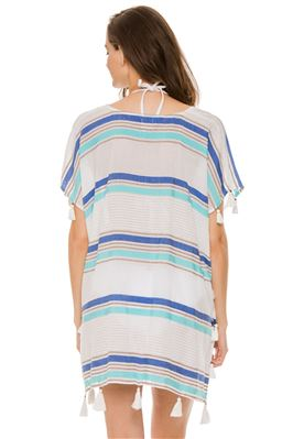 Striped Tassel Tunic