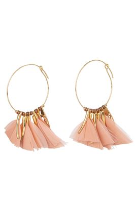 Marly Feather Earrings