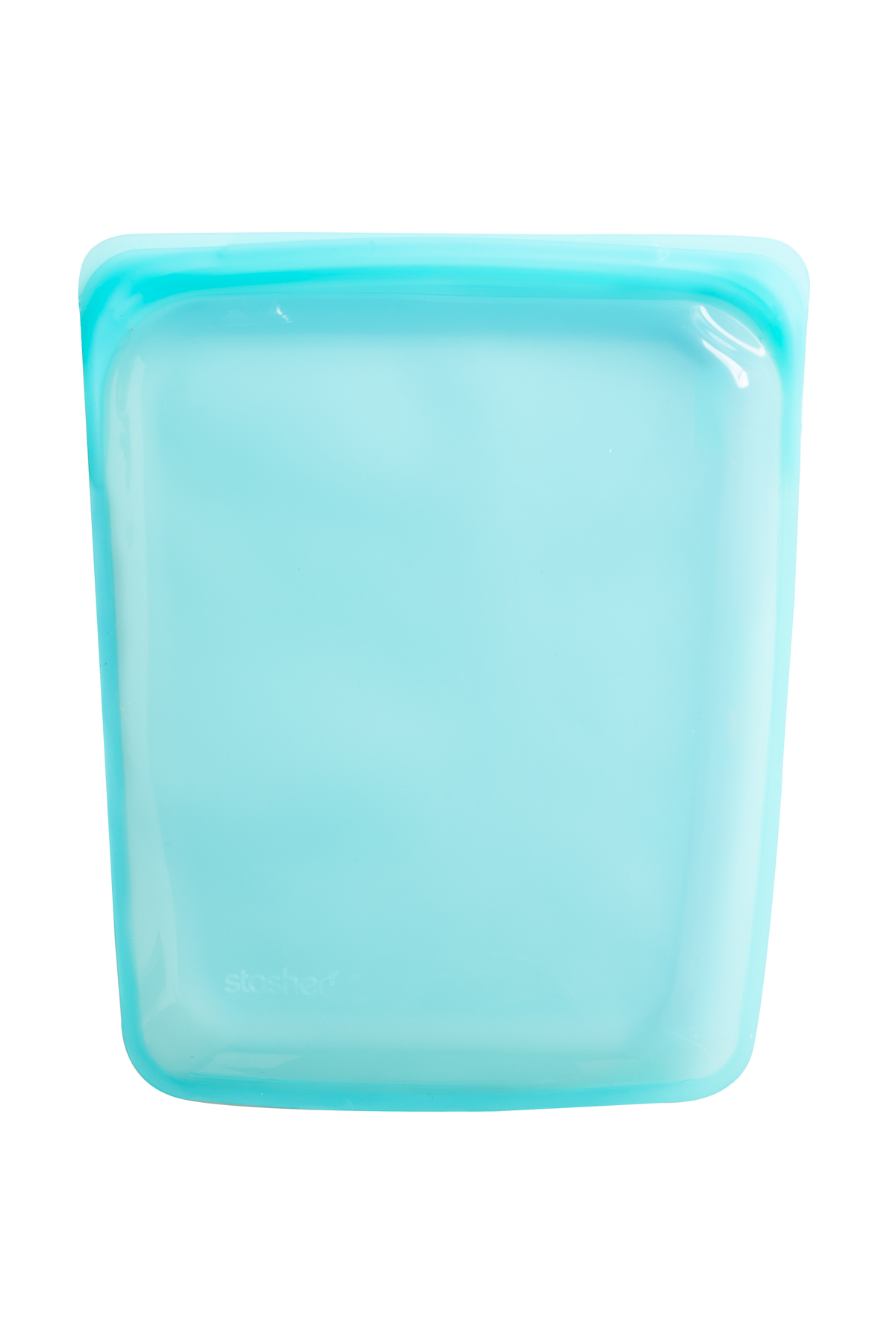 Large Water-Friendly Silicone Pouch - Aqua 1