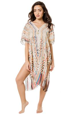 Colors of Life V-Neck Caftan