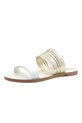 Samos Strappy Leather Slides