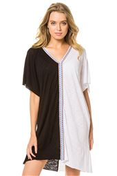 Pima V-Neck Tunic
