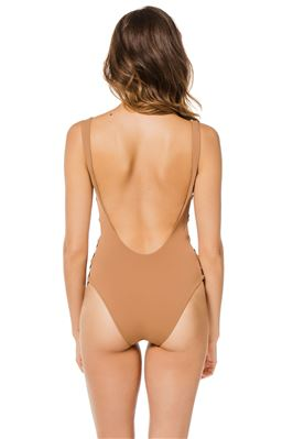 Desir Plunge One Piece Swimsuit