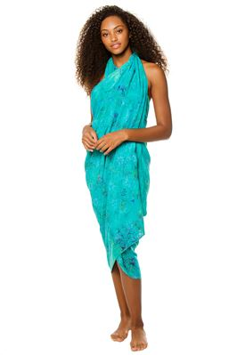 Tie Dye Batik Long Cover Pareo