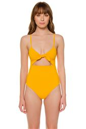 Kia Cutout One Piece Swimsuit