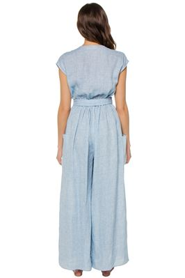 Whitney Deep Plunge Jumpsuit