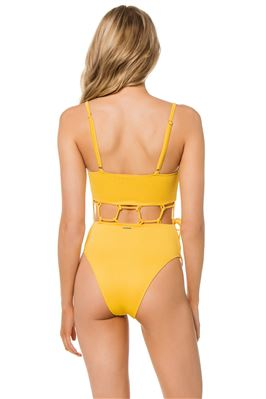 Milos Over The Shoulder Cutout One Piece Swimsuit