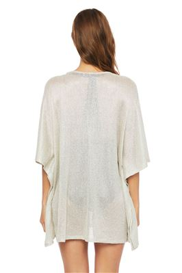 Sheer V-Neck Tunic