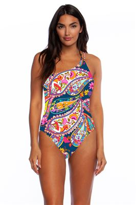 Asymmetrical One Piece Swimsuit