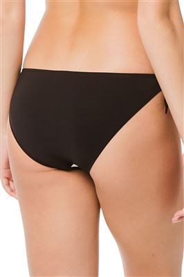 Loop Tie Side Hipster Bikini Bottom