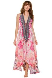 Hi-Low Maxi Dress