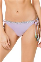 Scalloped Loop Tie Side Hipster Bikini Bottom