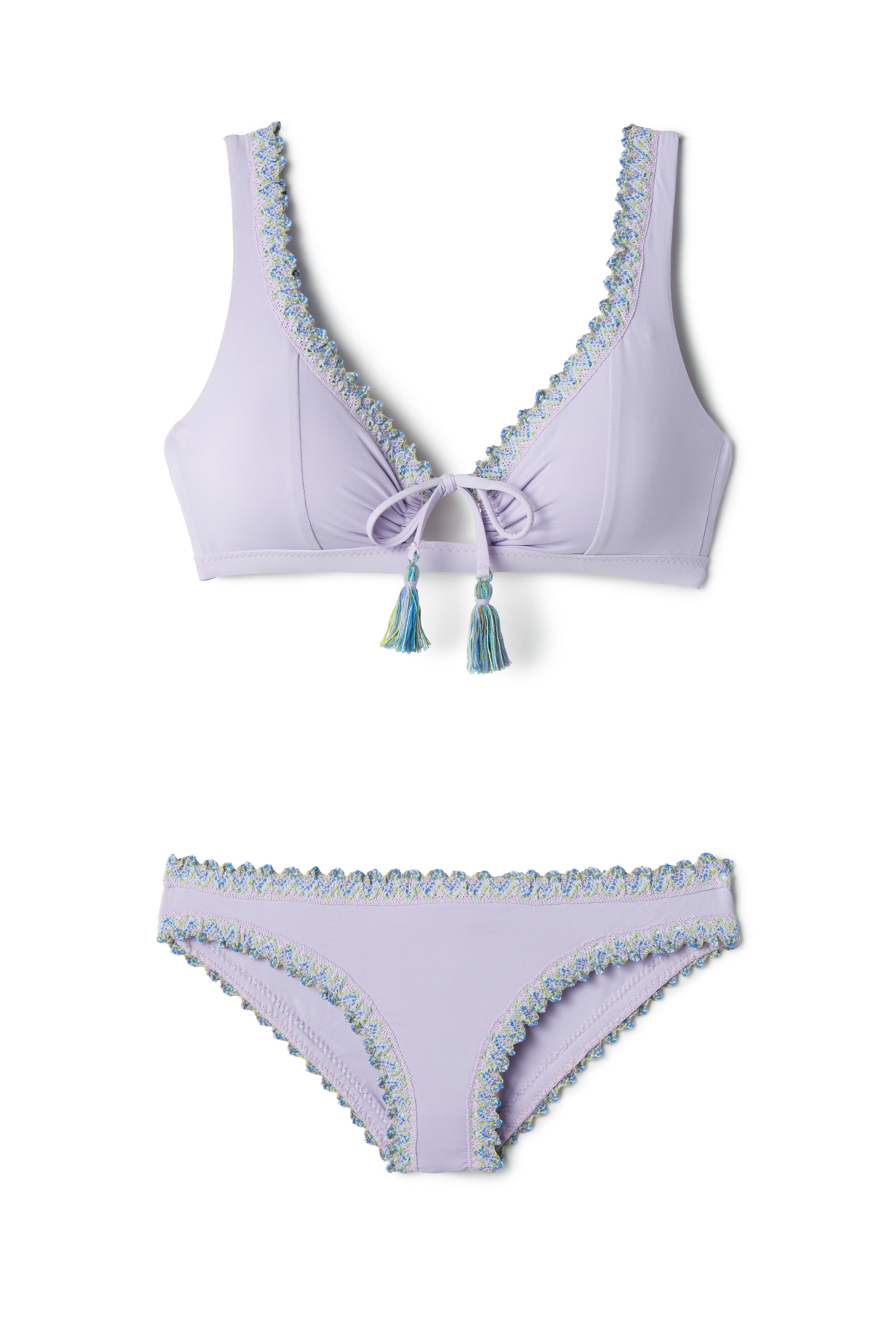 Scalloped Hipster Bikini Bottom - Iris 3