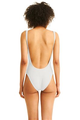 Reversible Over The Shoulder One Piece Swimsuit