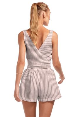 Martinique Stripe Romper