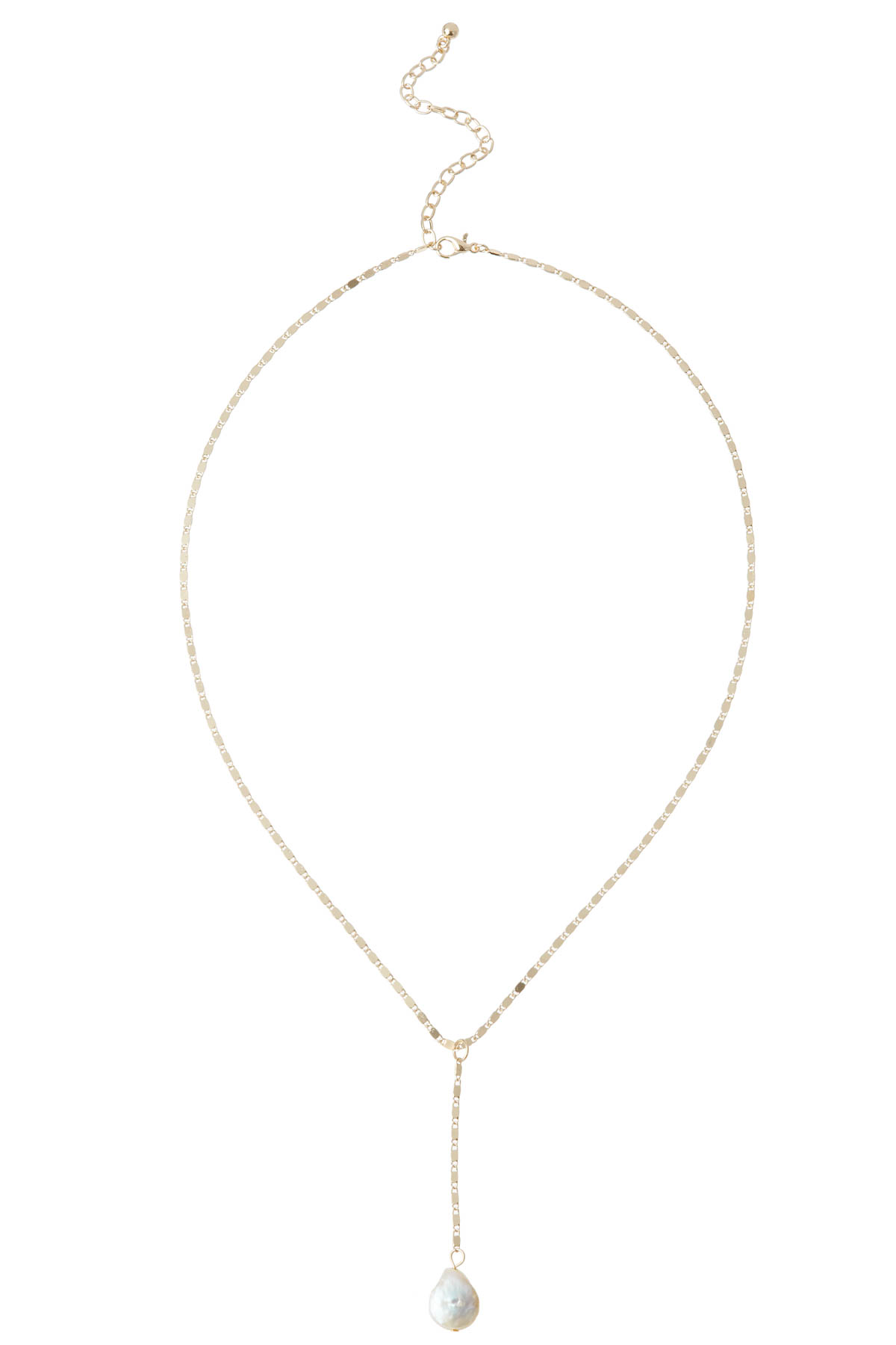 Pearl Necklace - Gold 1